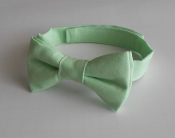 Mint Bowtie - Infant, Toddler, Boy                                  2 weeks before shipping