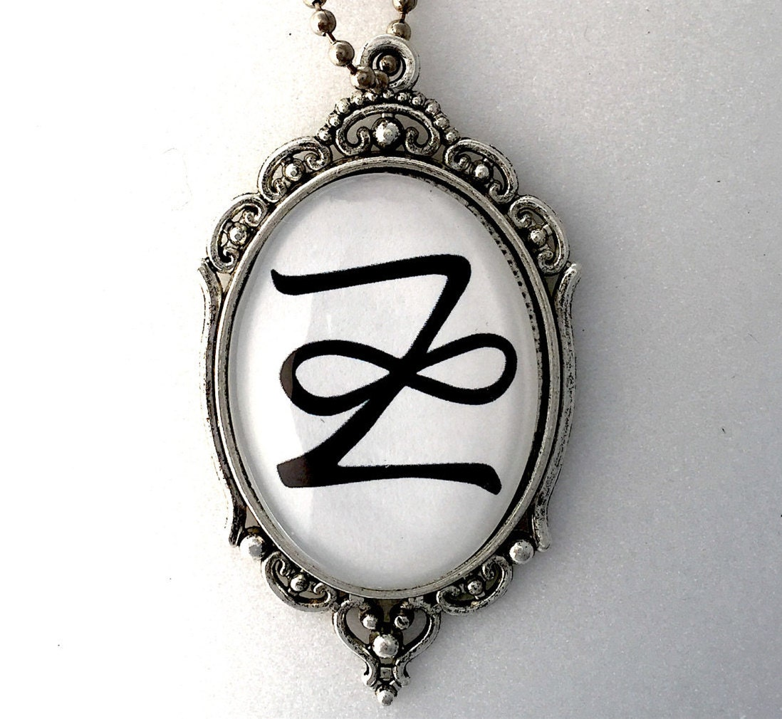 Zonar reiki symbol pendant 2 sided with reiki principles on zoom biocorpaavc Gallery