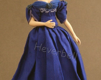 "Porcelain Doll - Young Victoria (12th Scale, approx. 5/12"")"
