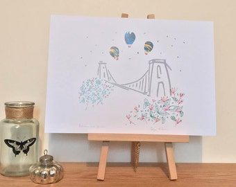 Bristol Suspension Bridge Print