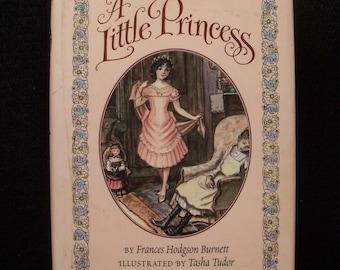 A Little Princess by Frances Hodgson Burnett (hardcover, illustrated by Tasha Tudor)