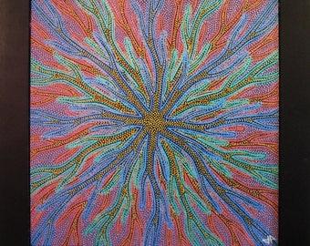 Painting: Virus.