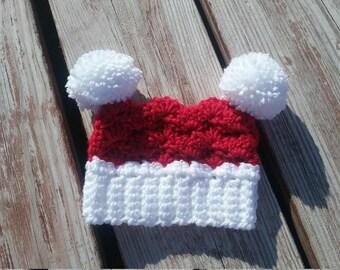 Square Pom Hat