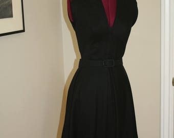 1950s 40s Eisenberg Originals Vintage Swing Dress