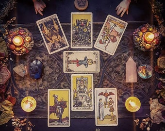 Love    Tarot Reading   Artistic Photograph and PDF Included -Sent to your email   Loving   Personal   Intuitive