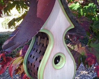 MODERN Birdhouse | Handmade BIRDHOUSES | Unique Bird house