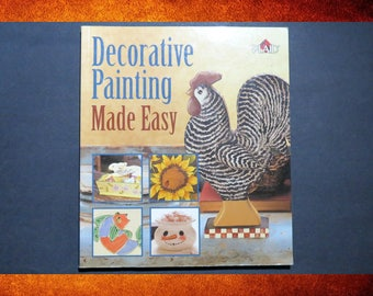 Decorative Painting Made Easy. Charming home decorating ideas and techniques. #BOOK-016