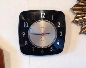 Viintage Black Smiths Wall Clock