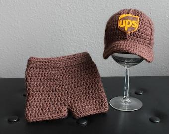 UPS Baseball Hat & Shorts