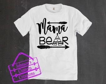 Mama Bear Tshirt