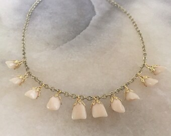 Tooth Fairy's Teeth Charm Necklace