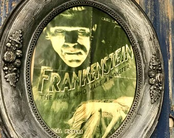 Frankenstein Photos Oval Frames