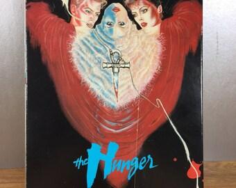 The Hunger VHS