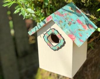 Decoupage Bird Box