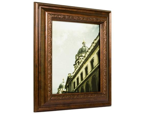 Craig Frames, 16x20 Inch Smoked Bronze Picture Frame, Pompeii, 2.25 ...
