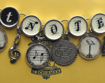 Got Notes Bracelet Musician Gift Musicians Music Charm Jewelry