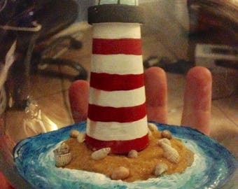 Lighthouse Centerpiece