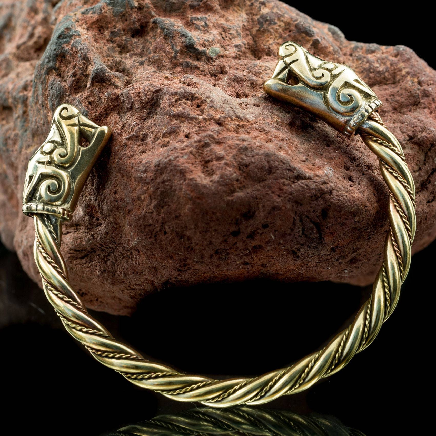 bronze women bangles cinnamon vein for leaf jewellery