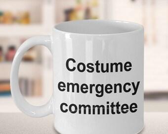 Dance Mug - Gift for Dancers - Competition - Costume Emergency Committee Mug