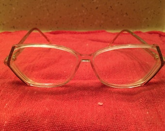 Set of 3 vintage eyeglasses (1980s)