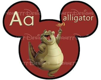 printable Disney alphabet cards