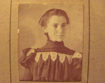 Antique Photograph of a Young Lady