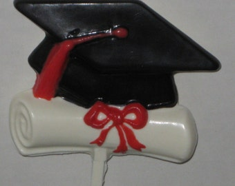 Graduation Cap & Diploma Pop