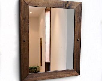 Bathroom Mirror, Rustic Mirror