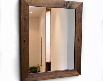 Delicieux Bathroom Mirror, Rustic Mirror