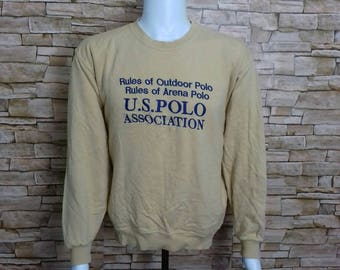 US POLO association sweatshirt crewneck jumper medium size