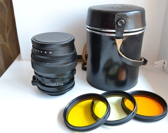 HELIOS 40-2 1.5/85mm Black Russian Very Rare Lens M42, S/N 861886