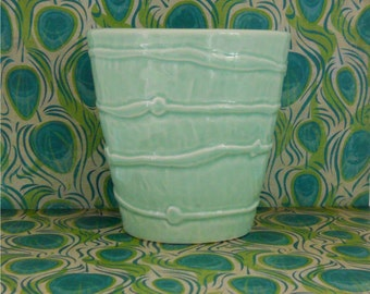 Mint Blue Planter - Portugal