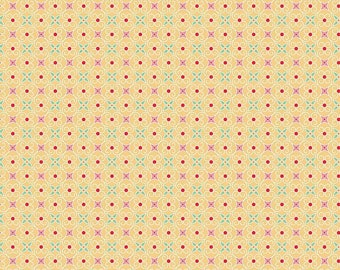 Cozy Christmas - Per Yd - Riley Blake - by Lori Holt  - Wrapping Paper Yellow - C