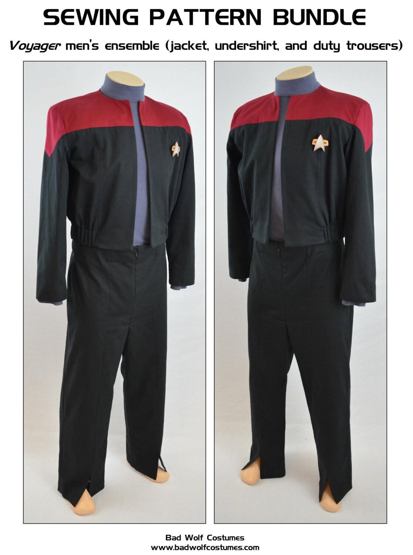 Star Trek Nähen Muster Bundle Sternenflotte Uniform