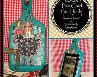 Apple Tree Cottage Original Design E Pattern - Prim Chick iPad Holder