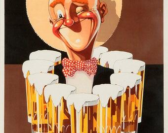 Vandenkerckhoven by OK Gerard. Vintage Beer Print/Poster. (4936)