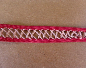 Red and Gold Trim