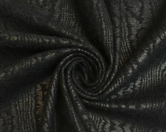 Haute Couture - 80cm x 90cm piece dark green cotton Brocade