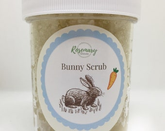 Bunny Scrub - Carrot - Easter - Easter Bunny - Essential Oil - Exfoliating - All Natural