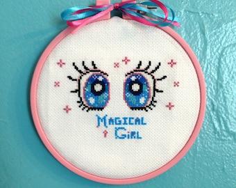 DIGITAL PATTERN - Magical Girl - instant digital download