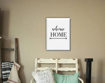 Farmhouse Welcome Home Printable Wall Art