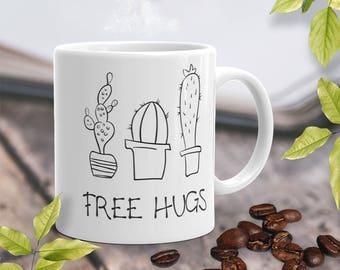Free Hugs Coffee Mugs