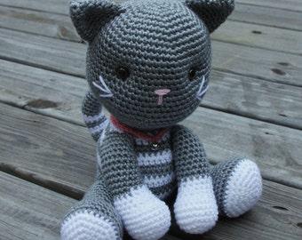 Crochet Kitten, Toy Kitten, Amigurumi Kitten, Crochet Cat, Toy Cat, Amigurumi Cat, Plush Kitten, Plush Cat, Kitty Cat, Baby Kitten