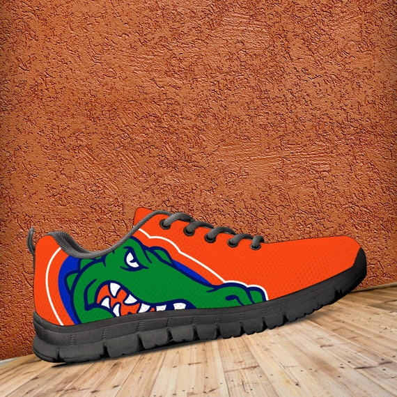 Custom Sneakers Gators Mens Unofficial Shoes fan Black collector Kids Fan gift Florida Ladies Trainers Sizes Football q0UnSxggt
