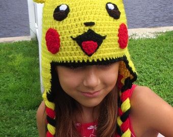Amigurumi Patterns Pikachu : Crochet pikachu etsy studio