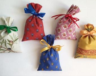 Set of 5 Lavender bag