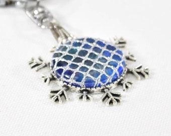 Snowflakes Bobbin Lace Kit; Bobbin Lace Kit; jewellery making kit