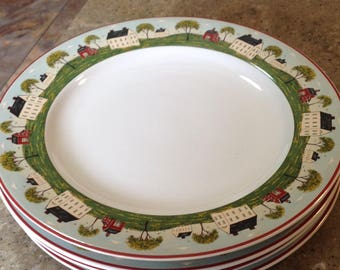 Vintage Brandon House Country Life Warren Kimble ... : warren kimble dinnerware - Pezcame.Com