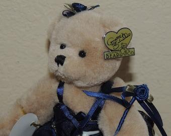 "Annette Funicello Tiny ""TRINA"" Ballerina Plush Teddy Bear"