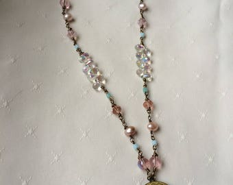 Pearls And Bubbles Necklace